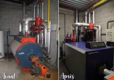Chaudière Industrielle - accueil - - Gallé et Fils, chauffage, sanitaire climatisation à Burbach