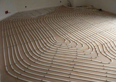 Chauffage plancher - Gallé et Fils, chauffage, sanitaire climatisation à Burbach
