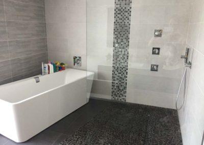 Salle de bain - Gallé et Fils, chauffage, sanitaire climatisation à Burbach